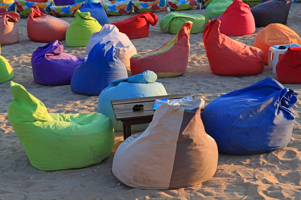 Plážové pytle