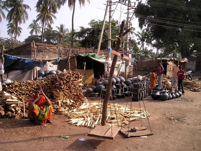 Tržiště v Indii