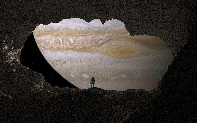 Výhled na Jupiter