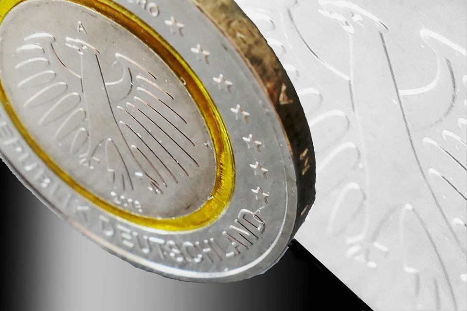 německá mince