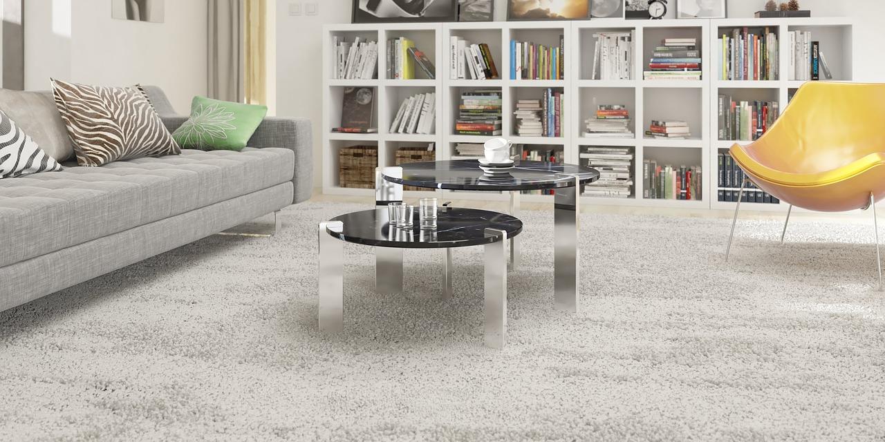 Čištění koberců je asi jediná nevýhoda této podlahové krytiny