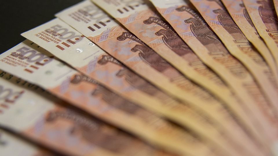 pětitisícovky rublů